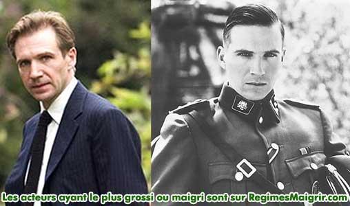 Ralph Fiennes a grossi de 13 kilos pour son rôle dans La Liste de Schindler