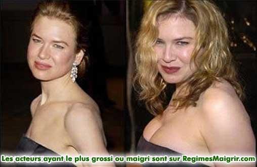 Renee Zellweger a pris 10 kilogrammes pour le premier Bridget Jones