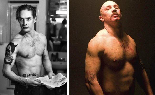 Tom Hardy a pris 19 kg pour jouer dans le film Bronson