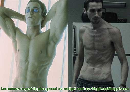 Christian Bale a maigri de 28 kilogrammes pour son rôle dans The Machinist