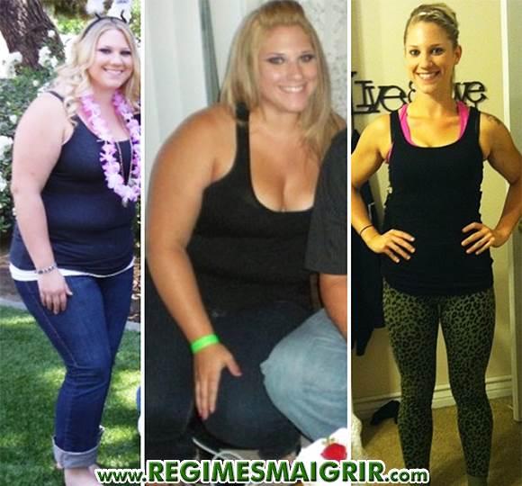L'évolution de la silhouette d'une femme qui a perdu 40 kilos