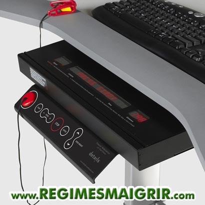 Console de contrôle de la WalkStation