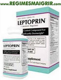 Une boîte de gélules Leptorin