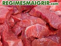 Les viandes rouges non maigres ralentissent énormément le processus digestif et cela sur une longue durée