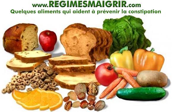 Quelques aliments dont la consommation aide à prévenir et soulager la constipation