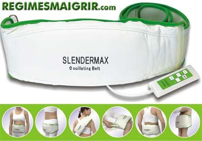 Ceinture vibrante SlenderMax