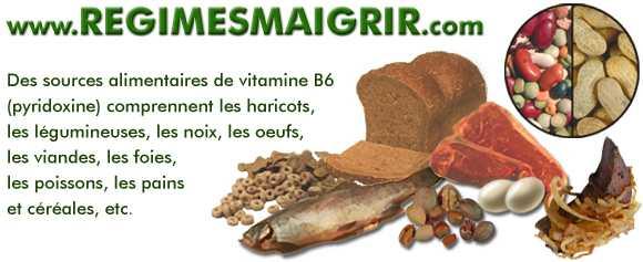 Aliments riches en vitamine B6