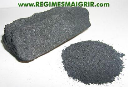 Charbon actif : le charbon végétal activé fait-il maigrir
