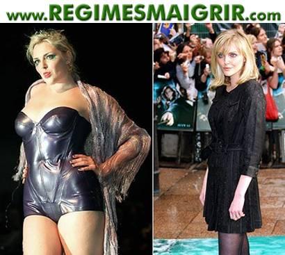 Sophie Dahl avant et après avoir maigri