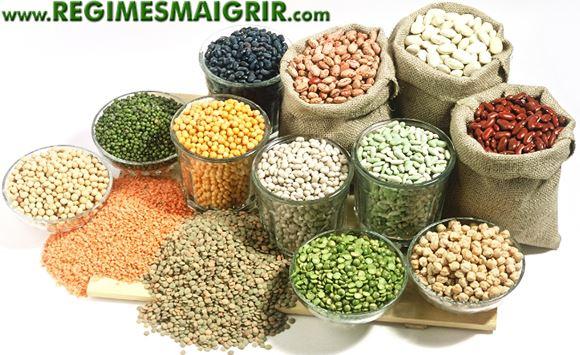 Quelques sacs de grains entiers