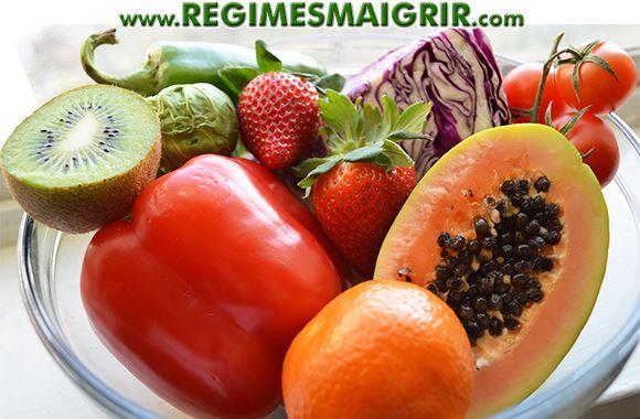 Quelques aliments contenant beaucoup de vitamine C