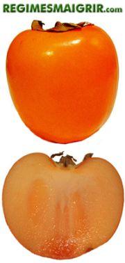 Le fruit kaki est cultivé en Chine depuis plus de sept cent années