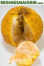 Le fruit Ugli est aussi appelé tangelo, il est fort riche en éléments nutritifs