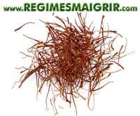 Des fils de safran, l'une des épices les plus chères du monde