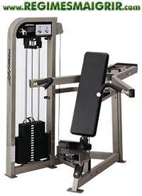 Une machine servant à pratiquer divers exercices pour prendre de la masse musculaire