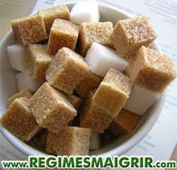 Ne mangez pas du sucre de table en trop grandes quantités si vous tenez à garder une belle taille