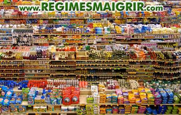 Les aliments transformés occupent de nos jours une place prépondérante dans les supermarchés