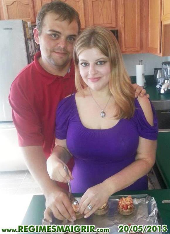 Justin et Lauren Shelton ont appris à cuisiner beaucoup plus sainement