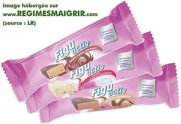 Diverses barres de la gamme Figu Activ