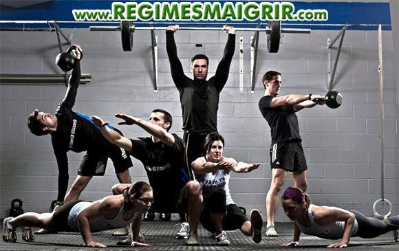 Le CrossFit combine de multiples activités sportives