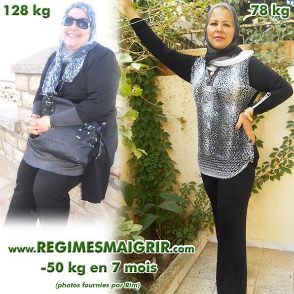 L'évolution spectaculaire de Rim, entre 128 et 78 kilogrammes