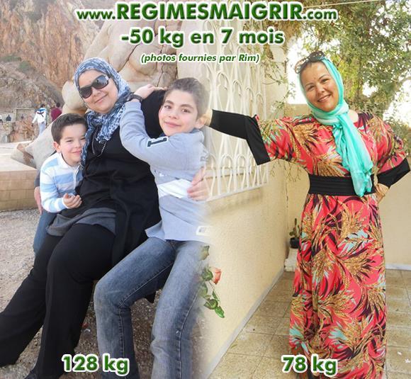 La perte de 50 kilos de Rim l'a complètement transformé au niveau de la silhouette
