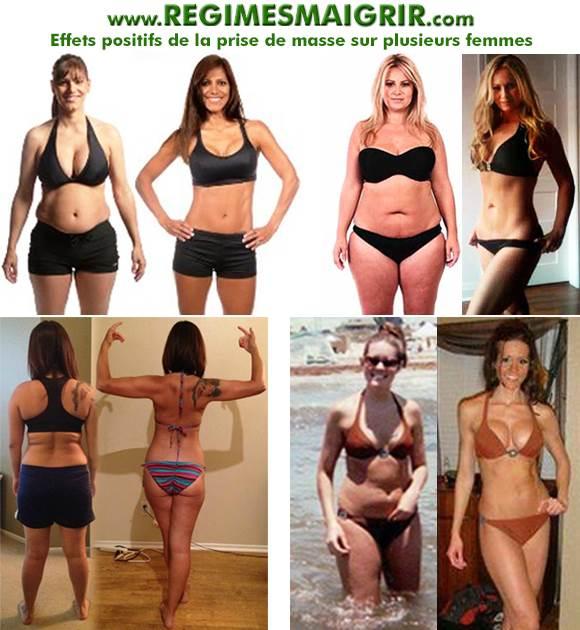 Les femmes qui gagnent en masse musculaire ne peuvent pas paraître trop musclées de manière naturelle