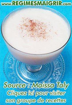 Recette de crème de choux-fleurs de Maissa Taly