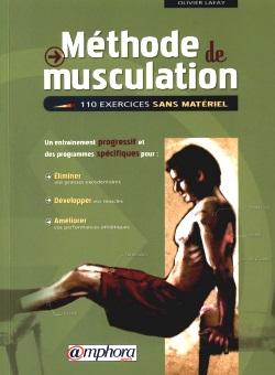 Couverture du livre méthode de musculation de Olivier Lafay