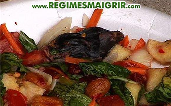 Une souris retrouvée morte dans une salade Dole Tender Garden