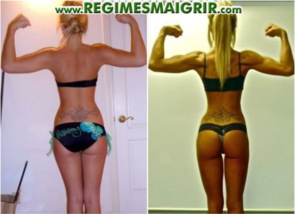 Raffermissement du corps remarquable en faisant des squats