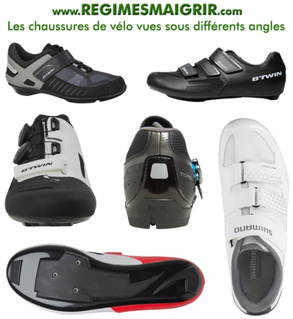 Les chaussures de vélo sont conseillés aux sportifs qui roulent souvent à une intensité soutenue