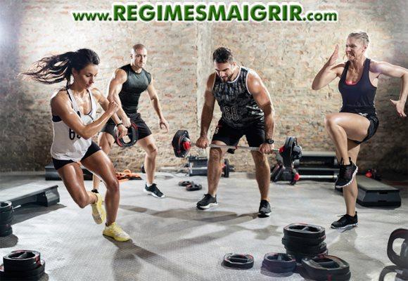 L'entraînement HIIT est surtout adapté aux personnes qui font du sport régulièrement