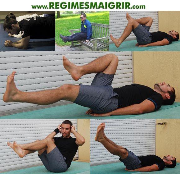 Quelques exercices que vous pouvez effectuer sans matériels sportifs