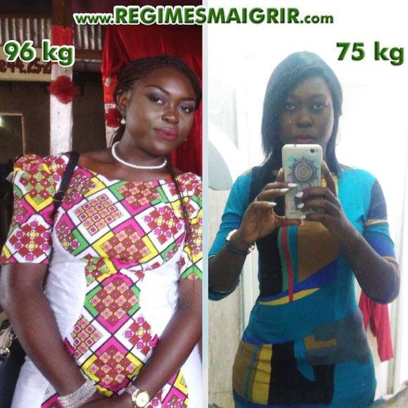 Le corps de Tanya a bien changé après 21 kilogrammes de perdus