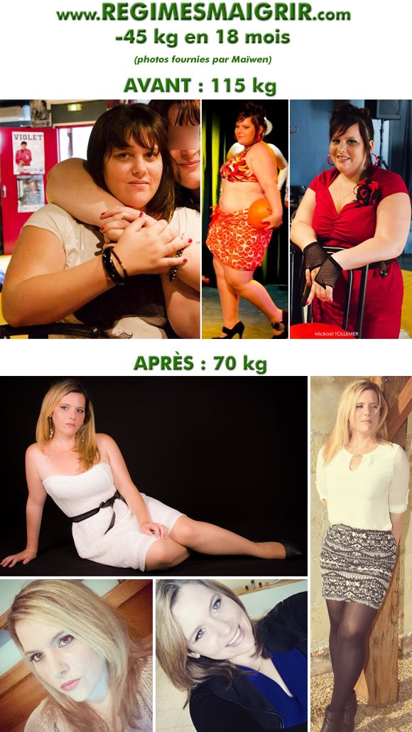 Voici comment Maïwen a fait évoluer son corps en 18 mois