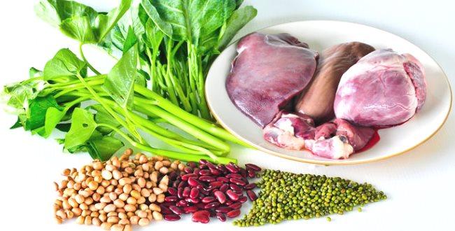 Quelques exemples d'aliments à haute teneur en fer