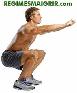 La position du squat est utile pour raffermir les popotins