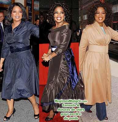 Oprah Winfrey suit un programme d'exercice physique régulier et un régime spécifique