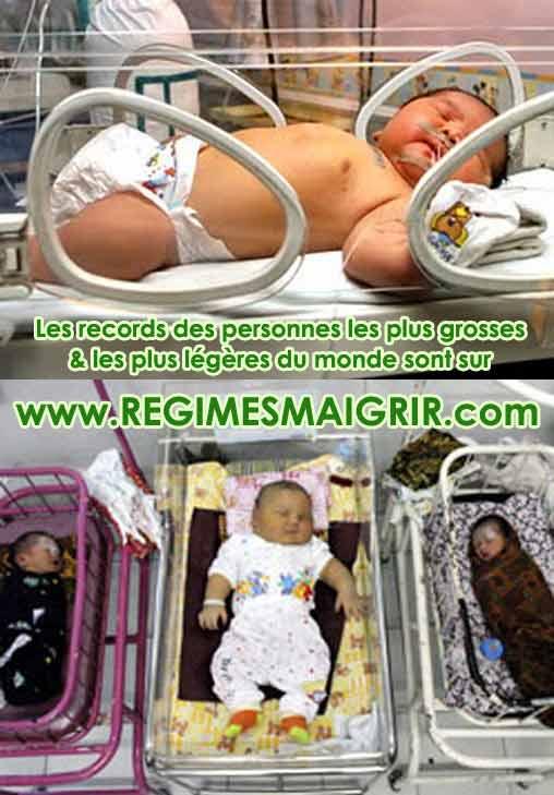 Akbar Risuddin le nouveau plus gros bébé du monde