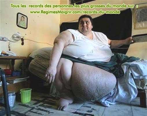 Manuel Uribe l'homme le plus lourd du monde selon le livre Guinness