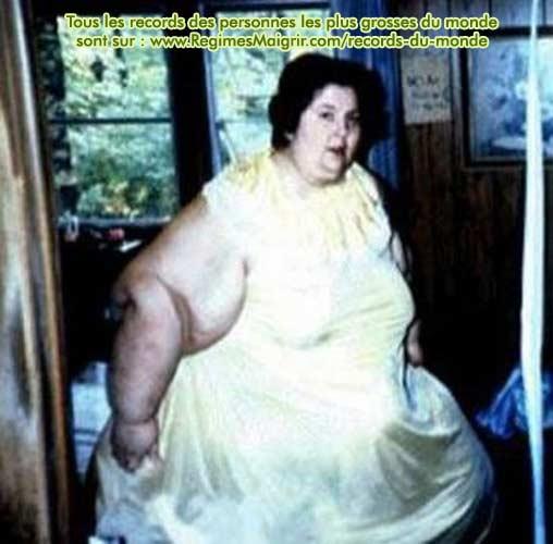 Rosalie Bradford reste la femme qui a perdu le plus de poids au monde