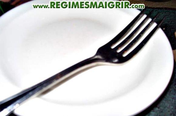 L'assiette sera quasiment vide 2 fois par semaine dans le cadre du jeûne intermittent