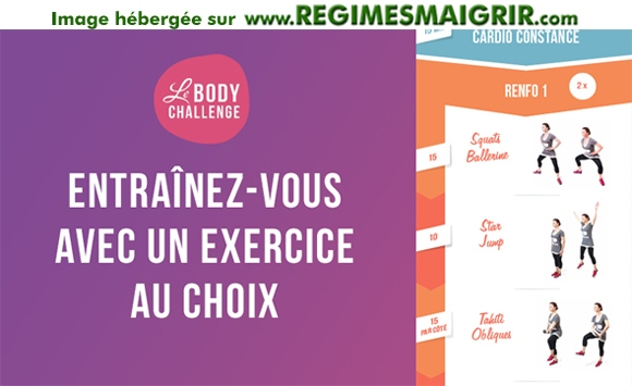 LeBodyChallenge est un défi fitness lancé par la créatrice du programme minceur LeBootCamp
