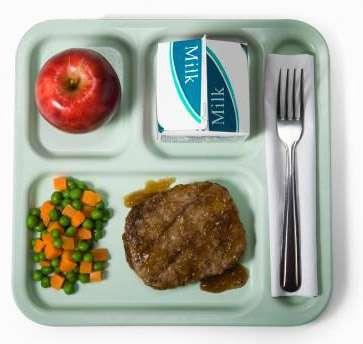 Le régime diététique est basé sur la variété des plats et l'équilibre alimentaire