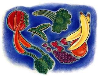Quelques aliments type d'un régime fibres