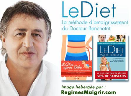 Le régime LeDiet fût co-inventé par le docteur Benchetrit et par le docteur Apfelbaum