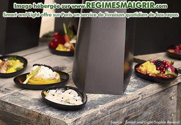 La méthode Smart and Light propose aussi la livraison journalière de lunch box et de dinner box